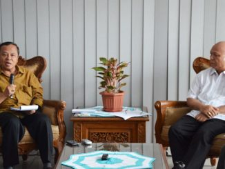 Konferensi Pers oleh (Ketua KWI) Mgr I. Suharyo dan (Sekjen KWI) Mgr J. Pujasumarta  [mirifica.net]